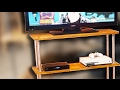 HOW TO: Build a TV Stand! - D.I.Y. Tutorial