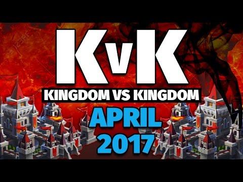 Lords Mobile - April 2017 KvK - 10 Million Kills & 98 Million Points