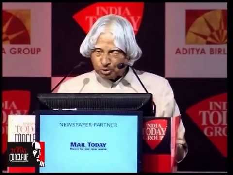 """India Today Conclave 2013 : """"I Was Spotted As A Young Scientist By Dr. Vikram Sarabhai"""""""