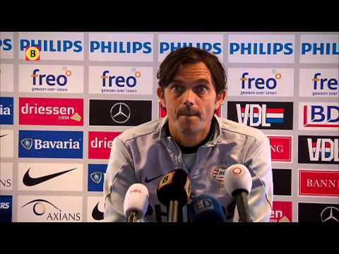 Phillip Cocu over PSV - Roda JC