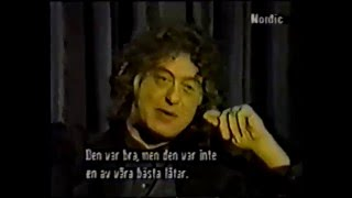 Jimmy Page - Nordic TV Interview 1990