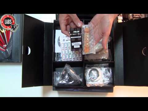ASUS Rampage III Black Edition Unboxing by PC Magazine Greek