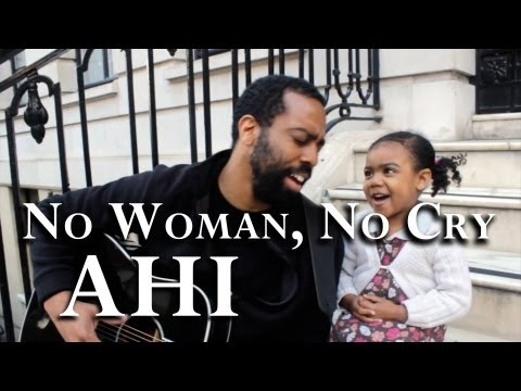 Bob Marley - No Woman, No Cry [father-daughter cover by AHI]