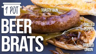 You're gonna love this recipe for one pot beer brats - easy AND delicious... SUBSCRIBE: http://bit.ly/stcgsub | MERCH: http://bit.ly/M_A_C_A WATCH NEXT ...