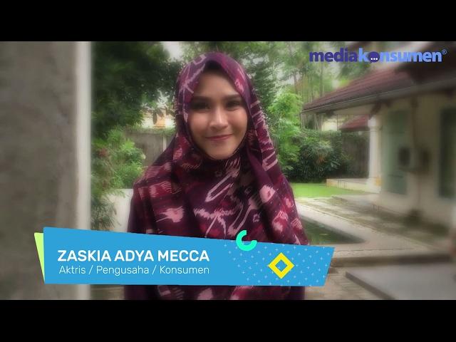Zaskia Adya Mecca tentang MediaKonsumen.com