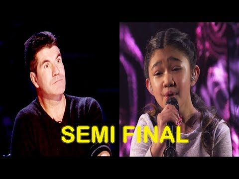 "Angelica Hale ""Without You"" By David Guetta Ft. Usher - Semi Finals America's Got Talent 2017"