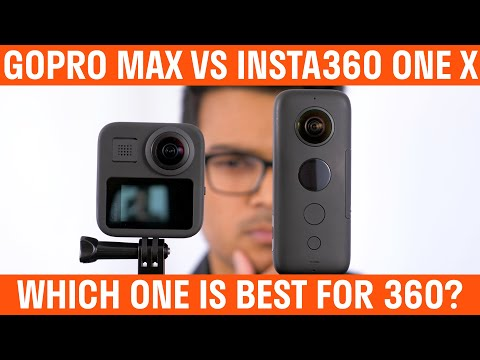 GoPro MAX Vs Insta360 ONE X Comparison - Which One Is Best For 360?