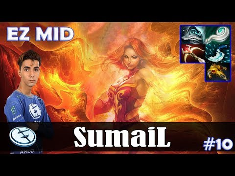 SumaiL - Lina EZ MID | 7.15 Update Patch | Dota 2 Pro MMR Gameplay #10