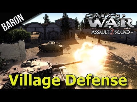 Men of War Assault Squad 2 - Village Defense Ye Nubsicklez!