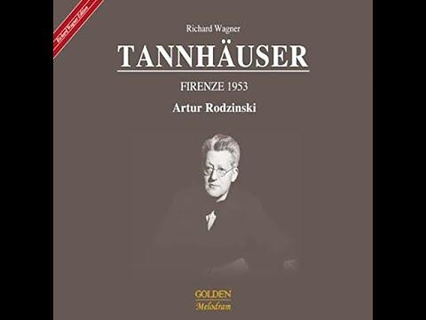 """Tannhauser"" Firenze 1953 / Artur Rodzinski CD"