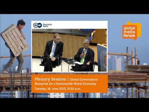 Plenary Session   Global Governance: Blueprint for a Sustainable World Economy