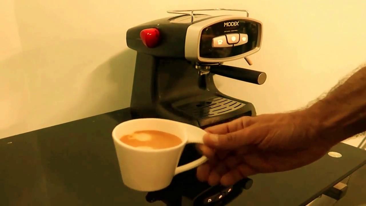 طريقة تحضير القهوة الاسبريسو باستخدام صانعة القهوة مودكس Youtube