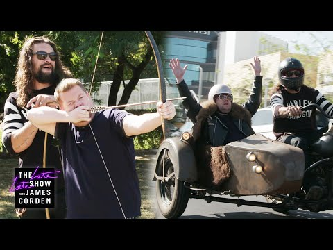 2 Hours Off w/ Jason Momoa - Whips, Arrows & Motorcycles