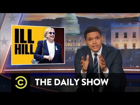 The Daily Show - Hillary Clinton's Rough Weekend