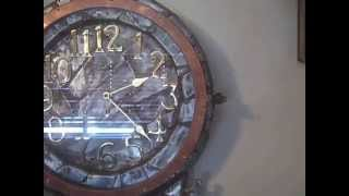 My Hugo Steampunk Schoolhouse Clock