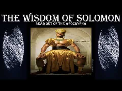 Full version- Wisdom of Solomon - apocrypha