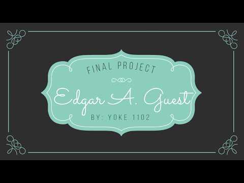 Edgar A. Guest Analysis