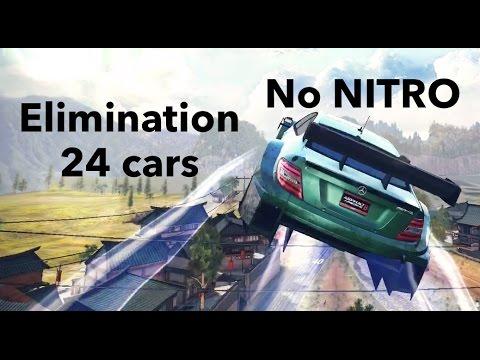 Asphalt 8 Mercedes AMG C63 - NO NITRO - NO BREAK - 24 cars ELIMINATION