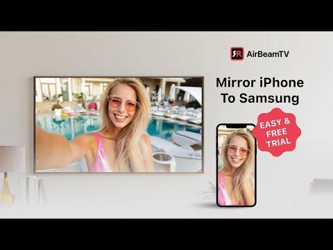 Mirror For Samsung Tv App Iphone, Samsung Screen Mirroring App Ios