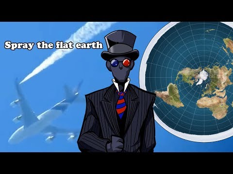 Silly chemtrail and flat earth arguments debunked! thumbnail