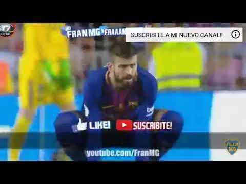 Barcelona vs real madrid parodia 1-3 2017