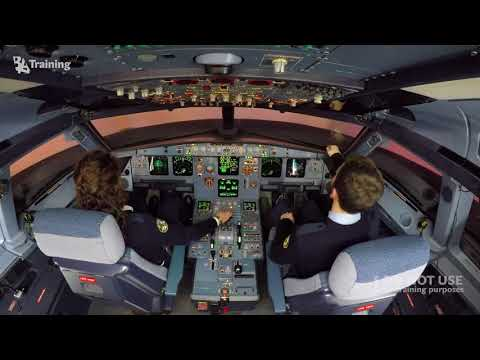 Multi Crew Cooperation basics. Go around and ILS approach on Airbus A320 – BAA Training