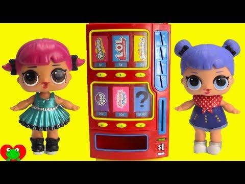LOL Surprise Dolls Vending Machine Fun Toy Video