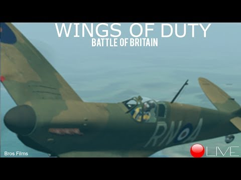 Wings of Duty Fw-190 and He-111 RAID   LIVE