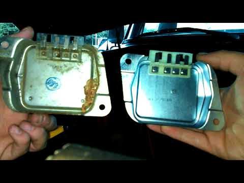 how to replace a voltage regulator on 1978 ford f100 - youtube  youtube