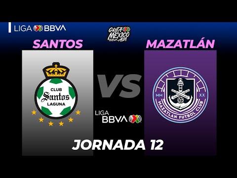 Santos Laguna Mazatlan FC Goals And Highlights
