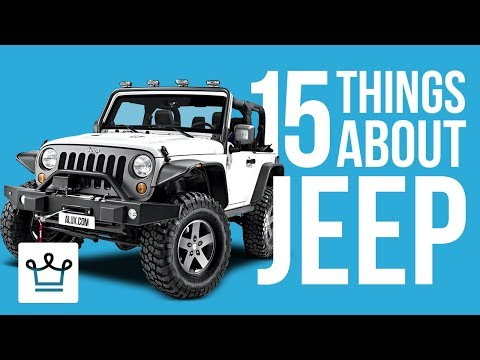 15 Things You Didn't Know About JEEP