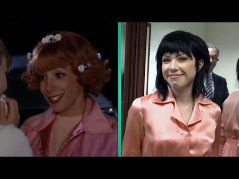 'Grease' Actress Didi Conn Gives Carly Rae Jepsen Frenchy's Original Pink Shirt