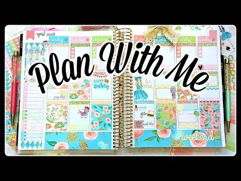 Plan With Me   Tea Party   Erin Condren Life Planner