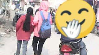 ||Moto Vlog #24| Cute Girls ?|Animals on road.....? Can I make it??