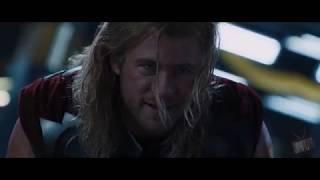 Халк не смог поднять Молот Тора  -Мстители(2012)