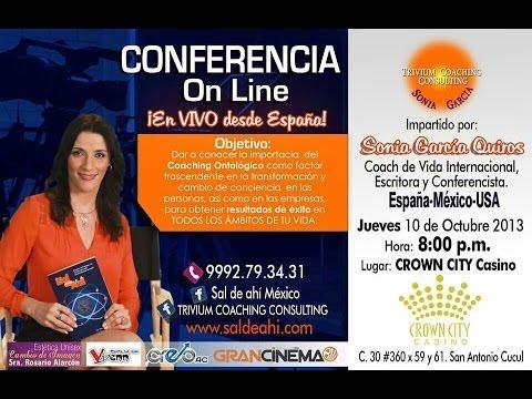 Conferencia Online desde España y México en Crown City Casino (Mérida - México)