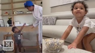Celeb Babies Do 'Candy Challenge'