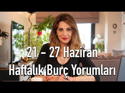 HOŞGELDİN YAZ! 21-27 Haziran Haftalık Burç Yorumları - Hande Kazanova ile Astroloji