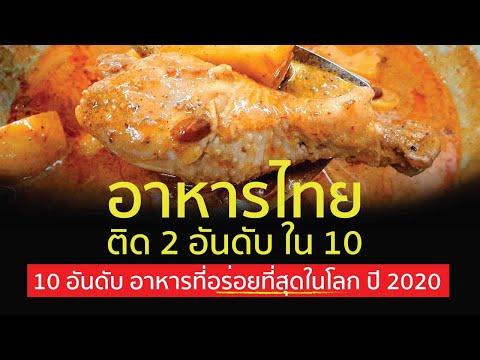 อาหารไทย อร่อยที่สุดในโลก |  มีเมนูอะไรบ้างไปชมกัน !