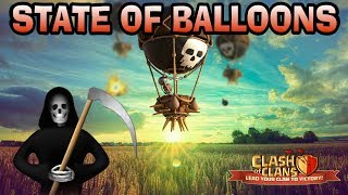 THE STATE OF BALLOONS POST UPDATE 2017-CLASH OF CLANS thumbnail