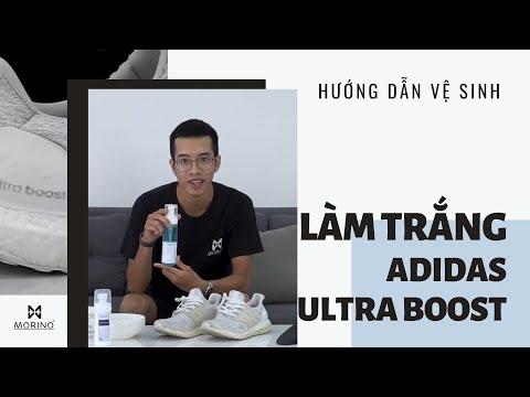 [Hướng dẫn] Làm sạch, xử lý ố Adidas Ultra Boost trắng