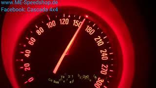 Cascada v6 2.8 4x4 Testfahrt Autobahn Tachovideo - ADAC