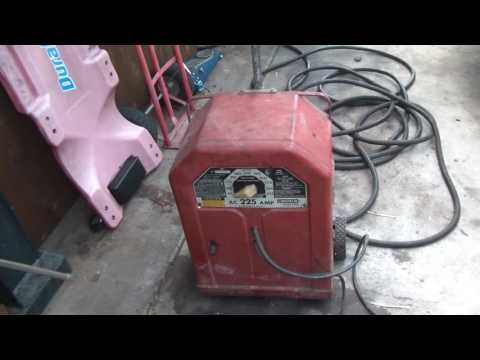 Lincoln AC225 Welder Restoration Repair Test