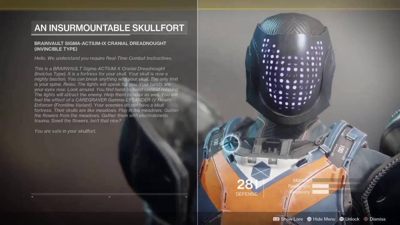 An Insurmountable Skullfort