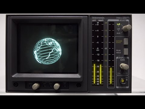 Oscilloscope Music  Pictures from Sound