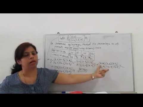 Langrages interpolations(Unequal intervals)