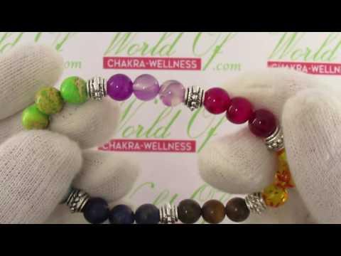 Natural Stone Chakra Bracelets