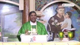 Word of God by Rev.Fr. Christhu Raju @ St.Anthony's Shrine, Mettuguda, HYD, TS, INDIA,16-08-16.HD