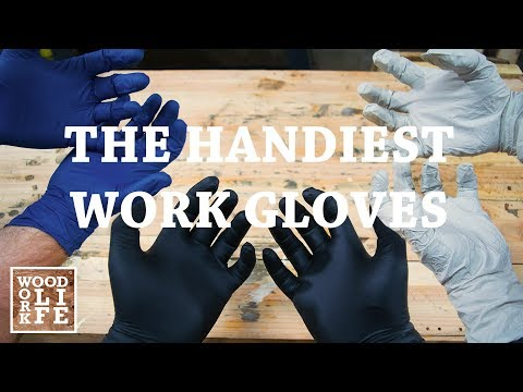 """Nitrile Work Glove Shootout - The ULTIMATE """"HAND"""" Tool 