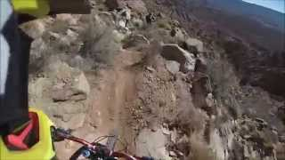 Flying Monkey Trail - Downhill MTB in Virgin Utah 2015